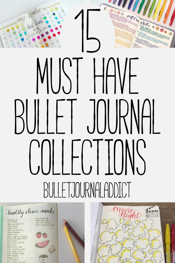 15 bullet journal collections you must try bullet journal addict. Black Bedroom Furniture Sets. Home Design Ideas