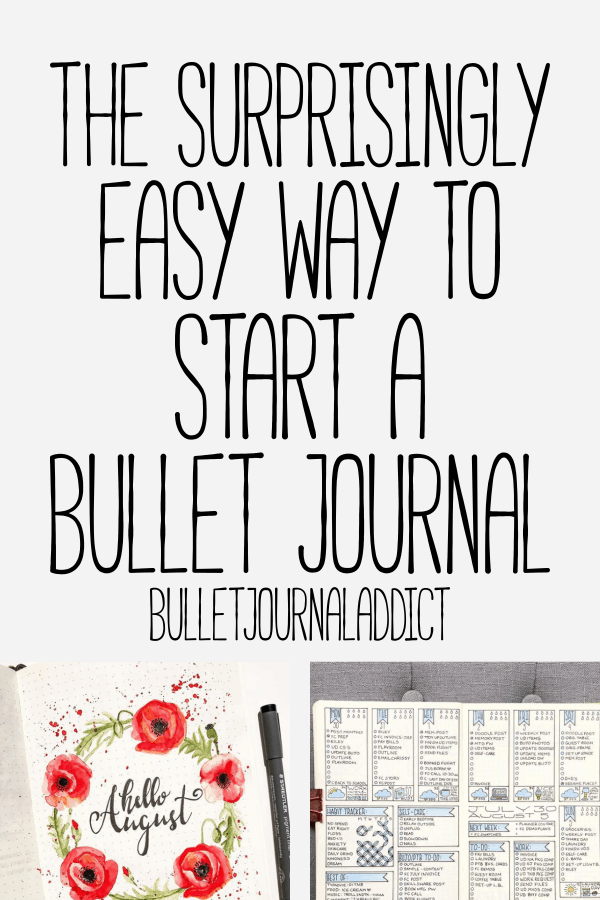 How To Start A Bullet Journal - Bullet Journal Setup and Ideas for Layouts - Bullet Journal Inspiration for Starting A Bullet Journal - The Surprisingly Easy Way To Start A Bullet Journal
